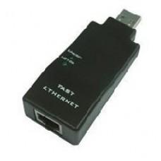 Adaptador de Red, Sabrent, NT-USB20, USB 2.0 a RJ-45, 1 puerto 10/100 Mbps