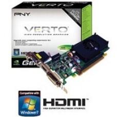 T.DE VIDEO PNY PCIE X16 2.0 GEFORCE G210 LOW PROFILE 1GB/64BIT DDR3 VGA/DVI/HDMI