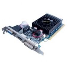 T. DE VIDEO PNY PCIE X16 GEFORCE GT610 2GB ESTANDAR Y BAJO PERFIL, HDMI+VGA+DVI