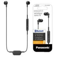 PANASONIC - Audífonos con Micrófono, Panasonic, RP-HJE120BPK, Bluetooth, Negro, Recargable