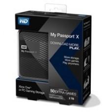 Disco Duro Externo, Western Digital, WDBCRM0020BBK-NESN, 2 TB, USB 3.0, 2.5 pulgadas, Negro