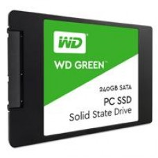 Disco de estado sólido, WD, WDS240G1G0A, 240 GB, SSD, 2.5 pulgadas, Green Label, SATA, 7mm